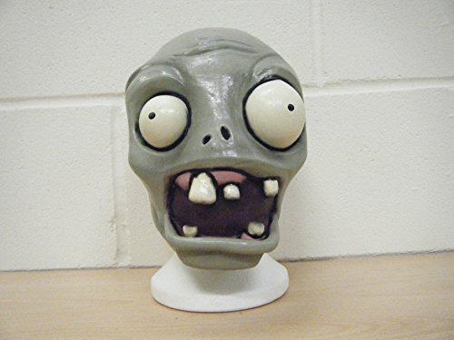 (WRESTLING MASKS UK Plants V Zombies Deluxe Halloween Full Head Fancy Dress Costume)