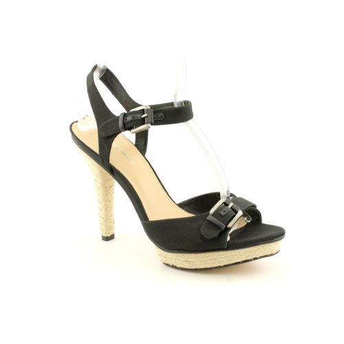 Via Spiga Cain Ankle-Strap Sandals - Black Black