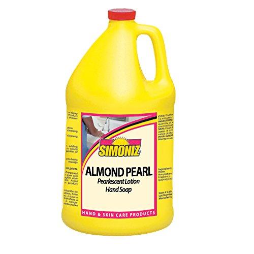 Simoniz CS0215004 Almond Pearl Liquid Hand Soap, 1 gal Bottles per Case (Pack of (Moisturizing Pearl)
