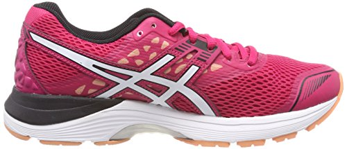 Bright Pulse Gel White Running Shoes Women's Asics 9 2101 Pink Rose Black gTx00p