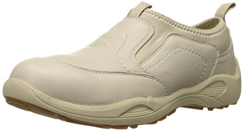 Propet Men's Wash and Wear Pro Walking Shoe,Bone,14 D US