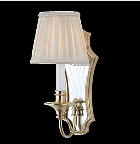 GOWE Italy Palace antique copper wall lamp Frosted glass lampshade Modern wall Sconce bedroom wall lights bedside wall lighting by Gowe