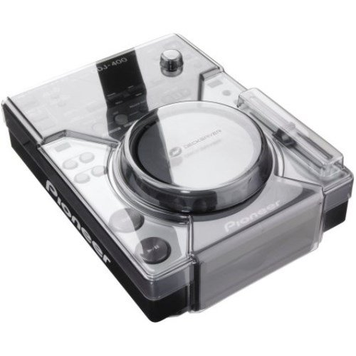 [해외]Pioneer CDJ-400 용 데크 세이버 보호 커버 (클리어)/Decksaver Protective Cover for Pioneer CDJ-400 (Clear)