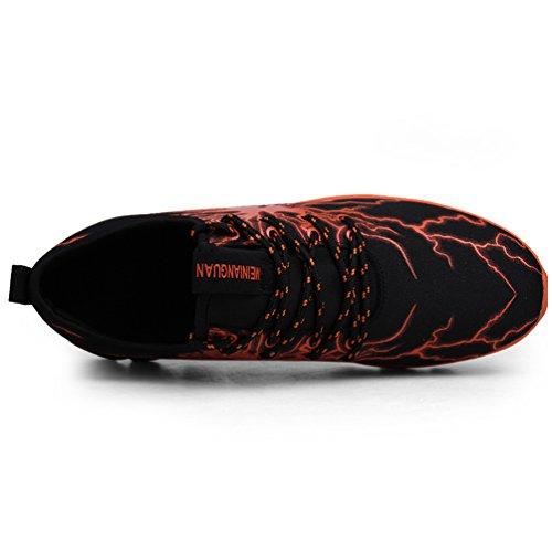 Zapatos Zapatillas De Hombres Colores 6 Deporte Casuales naranja 4 Con Running EF6rxEpwnq