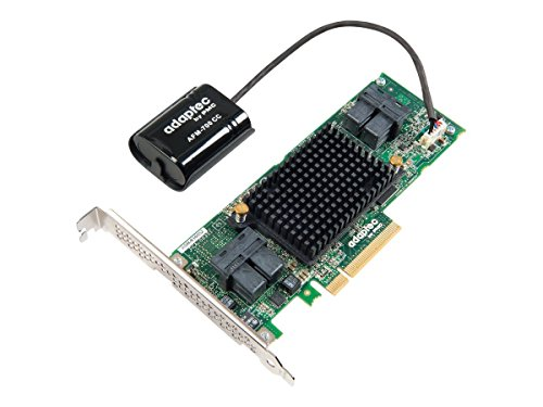 Adaptec RAID 81605ZQ with maxCache Components 2281600-R by Adaptec