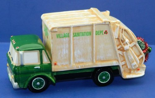 Dept 56 Snow Village Garbage Truck Village Service Vehicle 54959 by Department 56