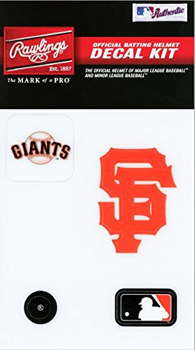 Rawlings Sporting Goods MLBDC Decal Kit, San Francisco Giants (Giants Francisco Decal San)