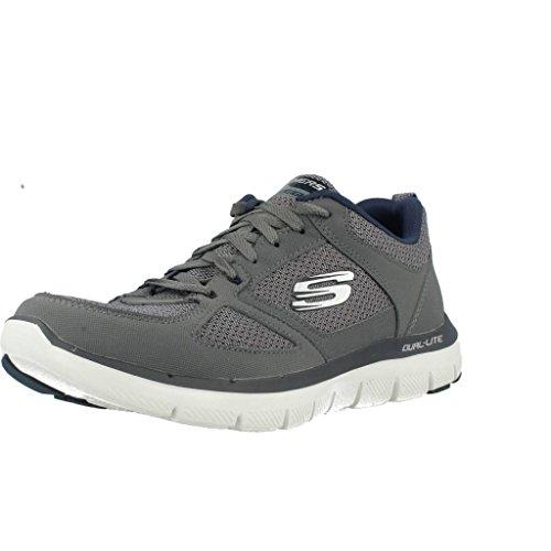 Skechers Deporte Hombre Gris 2 Para Flex De Advantage Zapatillas 0 wZqfwC