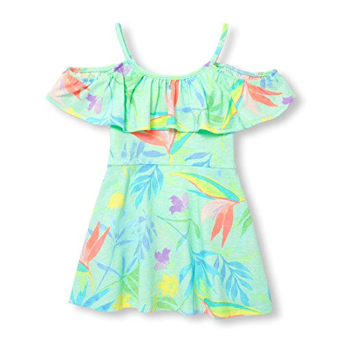 The Children's Place Baby Girls Sleeveless Casual Dresses, Soft Sage 96967, 18-24MONTH