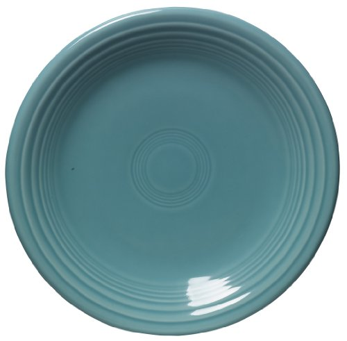 Hours Round Sapphire - Fiesta 7-1/4-Inch Salad Plate, Turquoise