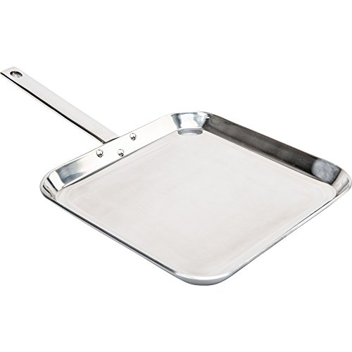 stainless square griddle - 1