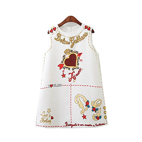 Better Annie Annie Baby Girls Dress Clothes New Brand Princess Dresses For Girls Letter Embroidered Kids Dress Children