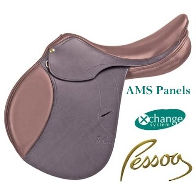 (Pessoa Gen-X Elita AMS Saddle 17 Medium Forward)