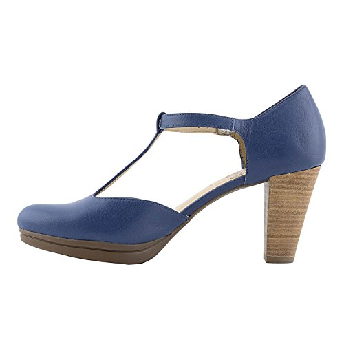 I 3364 18 Zapatos Azul Wonders vqRwTd