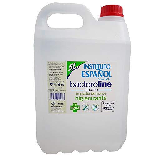 🥇 Instituto Español Bacteroline Limpiador de Manos Higienizante 5 L