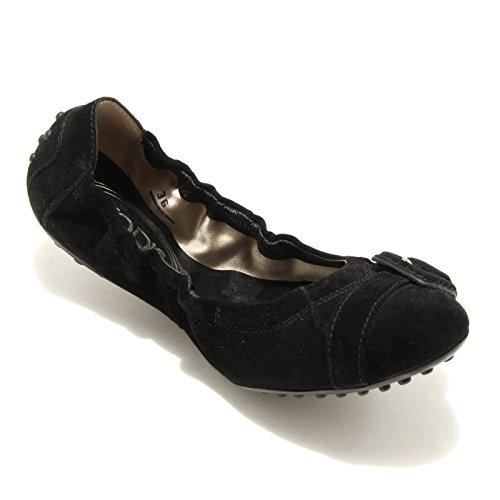 1702G ballerina nera TODS DEE FIBBIA scarpa donna shoes women Nero