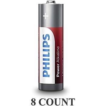 Amazon.com: 8 Philips AAA Batteries LR03 AM4 Micro 1.5V