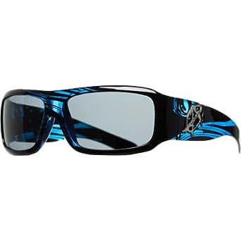 Anarchy Consultant Sunglasses - Polarized Tribal Blue/Smoke, One Size