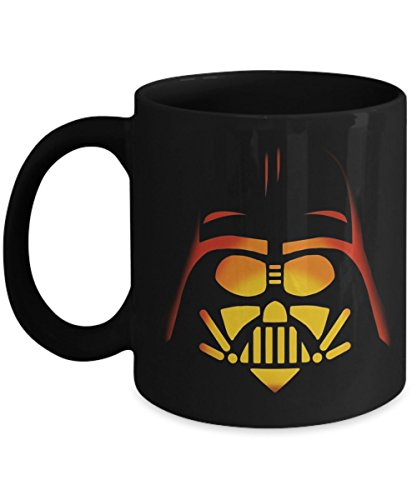 Darth Vader Pumpkin Carving Halloween - Funny Happy Halloween Day Coffee Mug Gift Coffee Cup Mugs - Halloween Great Gifts Idea for Him, For Men, -