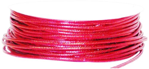 The Gift Wrap Company 25-Foot Tinsel Cord, Red (16060-03)