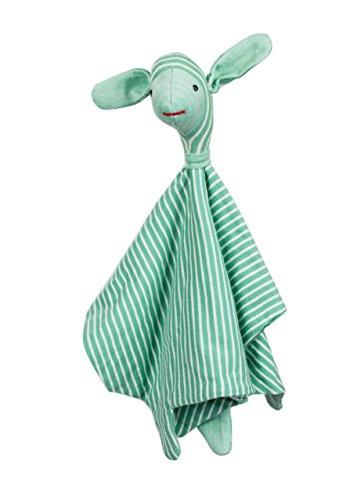 Merino Kids, Merino Ökologisches Kuscheltier, Großes Schaf, Navy Blau Streifen