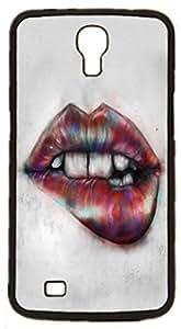 red pink sexy lip Hard Case for Samsung Galaxy Mega 6.3 I9200 I9205 ( Sugar Skull ) by Maris's Diary