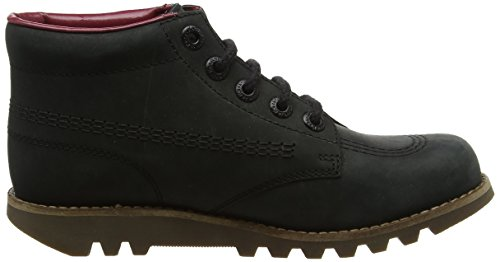 Black Kick Black Kickers Boots Core Hi Women's Black Ankle 7wqSP6n