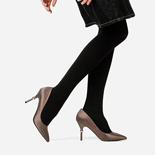 9 Stilettos Simples XUERUI Élégant Mme Sandales Mariage Talons 2 taille Chaussures 2 CN38 5 Tempérament EU38 De Graduation Cérémonie Escarpins Pointu UK5 Hauts Talon De Couleur 5cm q8r8ITw