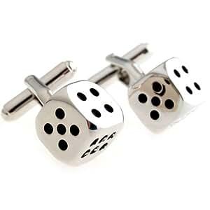 Creative Recreation Dice Men¡¯s cufflinks cuff nail xk162258