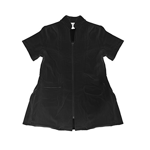 Canyon Rose Long Sleeve Salon Esthetician Jacket, Black, ()