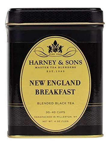 Harney & Sons NEW ENGLAND BREAKFAST 4 oz Black Tea in Tin