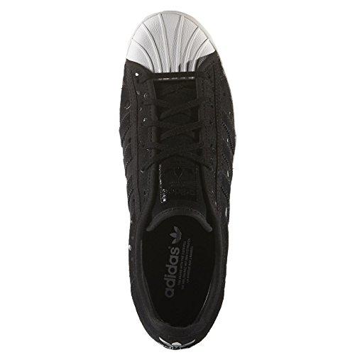 Adidas Superstar Rize W, / blanco / Los puntos negros, 5 con nosotros White Black