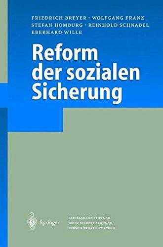 Reform der sozialen Sicherung