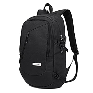 KAKA Slim Business Laptop Backpack Computer Backpack Fit 15.6 Inches  Laptops   Tablets Lightweight Casual Daypack 31d30eec67f4a