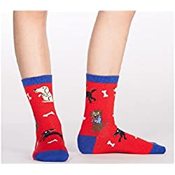 Sock It To Me, Kid's Best Friend, Youth Crew Socks, Puppy Dog Socks