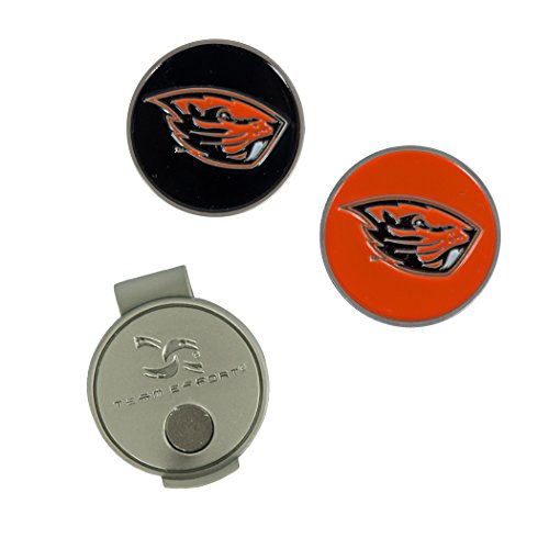 State Oregon Beavers Store - Team Effort Oregon State Beavers Hat Clip & 2 Ball Markers