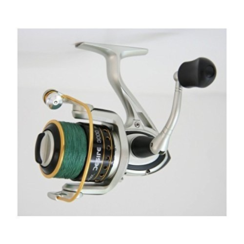 Cortland Desire 4000 Spinning reel pre-loaded 12lb braid + empty spare spool