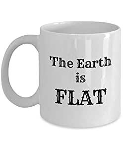 Amazon.com: Flat Earth Coffee Mugs - The Earth Is Flat ...