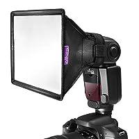 "Flash difusor ligero Softbox 6x5 ""por Altura Photo (universal, plegable con bolsa de almacenamiento) para Canon, Yongnuo y Nikon Speedlight"