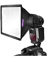 """Flash Diffuser Light Softbox 6x5"""" by Altura Photo (Universal, Collapsible with Storage Pouch) for Canon, Yongnuo and Nikon Speedlight"""