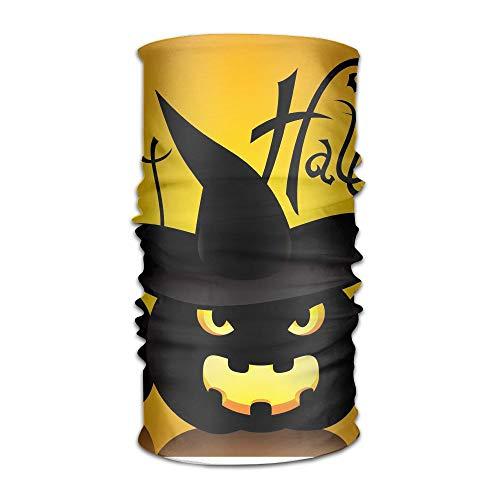Owen Pullman Multifunctional Headwear Happy Halloween Cute Head Wrap Elastic Turban Sport Headband Outdoor Sweatband ()