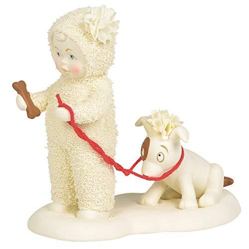 Department 56 Snowbabies Classics Give a Dog a Bone Figurine, 4.5