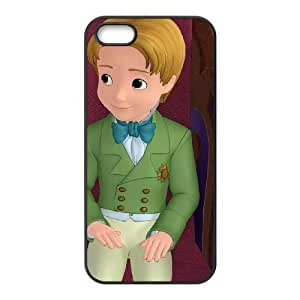 iPhone 5,5S Phone Case Black Sofia the First Prince James VF6625855