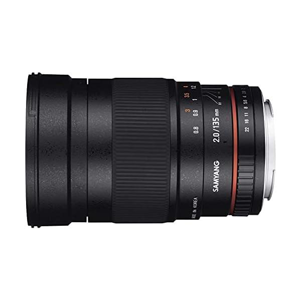 RetinaPix Samyang 135 Mm F2.0 Manual Focus Lens for Nikon AE
