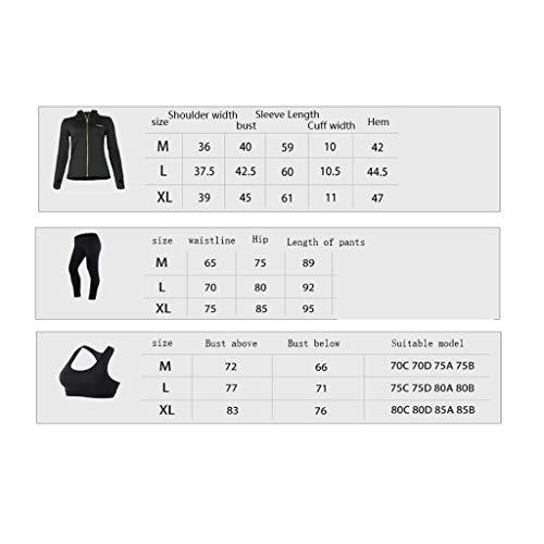 Donna Corsa 1 Palestra Lilongjiao Sportiva Fitness Tuta Pezzi Ad Sportivo Rapida Yoga Tre Asciugatura Abbigliamento Reggiseno A aIwatXq