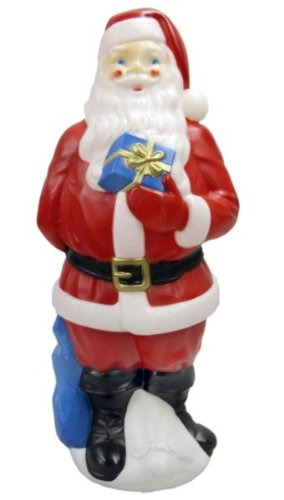 Trim a Home® 34 In. Lighted Christmas Santa Blow Mold