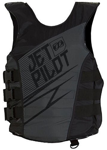 Jet Pilot Matrix Side Entry Nylon PFD (Large / X-Large, Black)