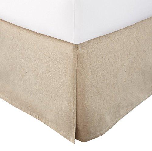 Levtex Home Dust Ruffle, King, Linen Linens Dust