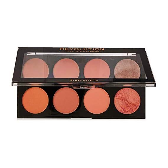 Makeup Revolution London Ultra Blush Palette, Hot Spice, 13G