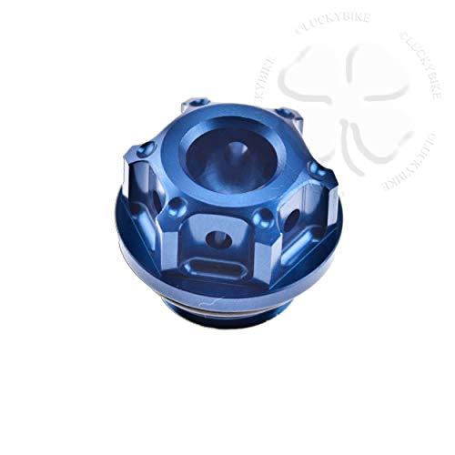 - CNC GP Engine Oil Cap Blue For Honda CBR CB VTR VT Seal CNC Aluminum Filler Lid